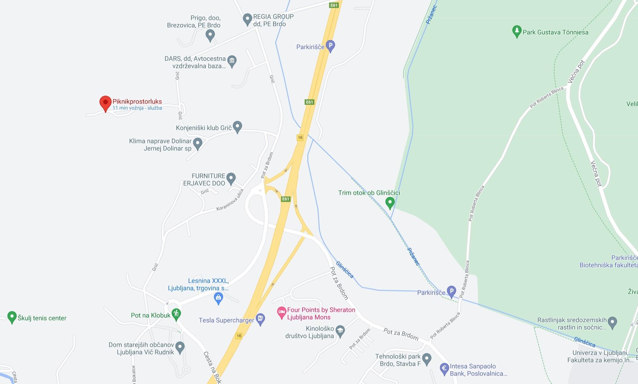 Kliknite za Google zemljevid
